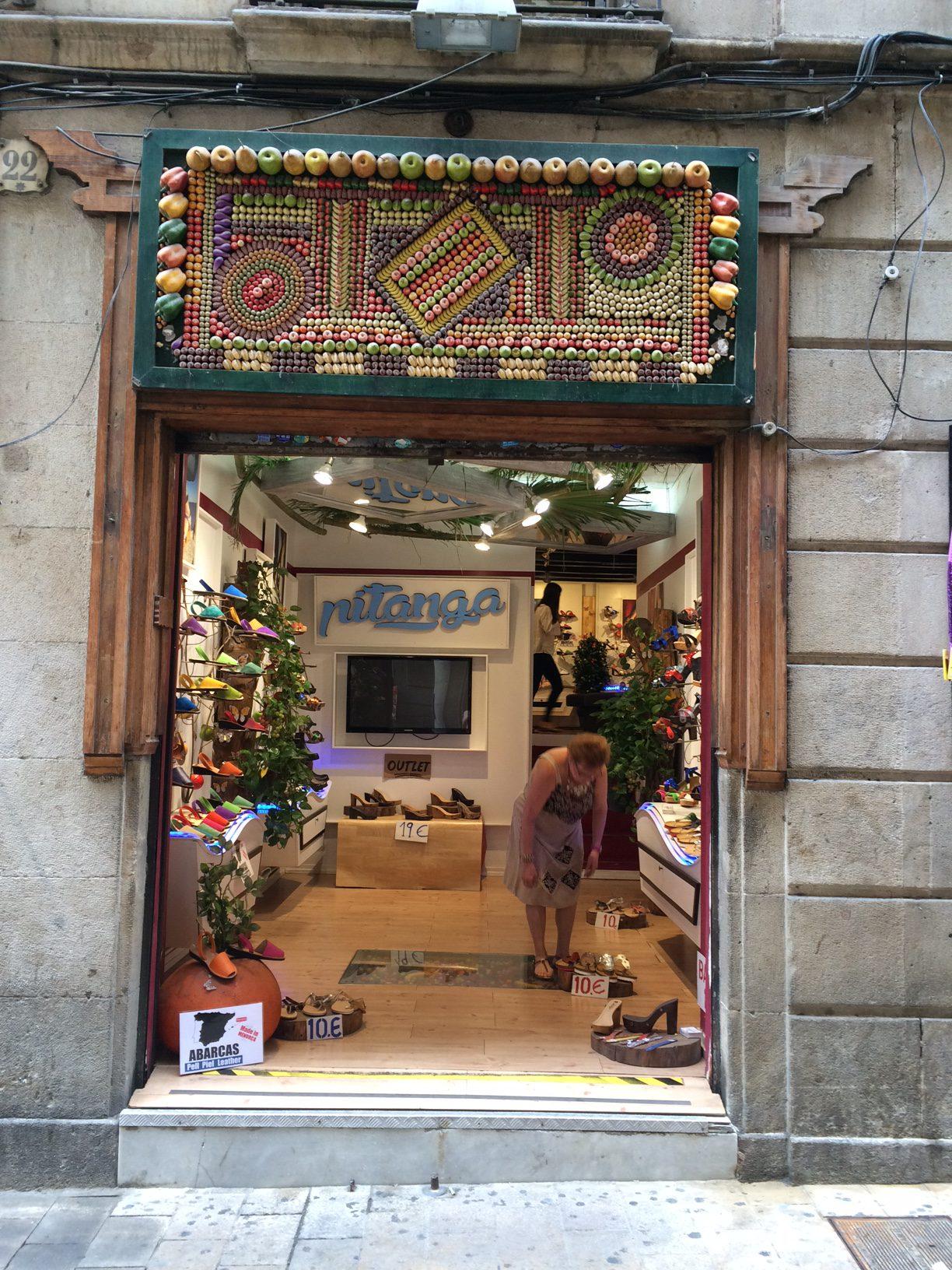 Barcelona MrsM Shopping