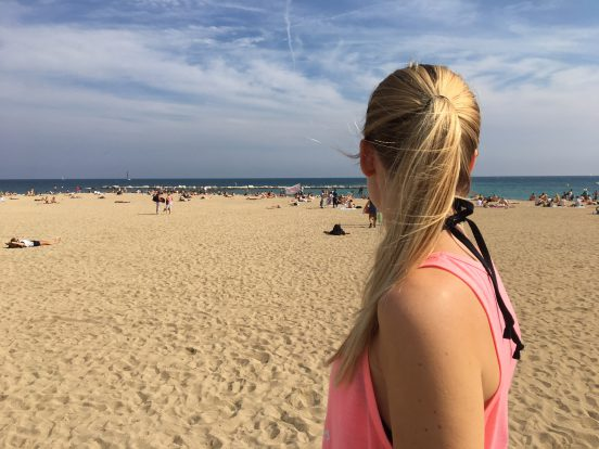 MrsM Barcelona strand tips