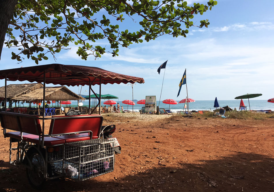 Rayong beach Thailand Mrs M restips