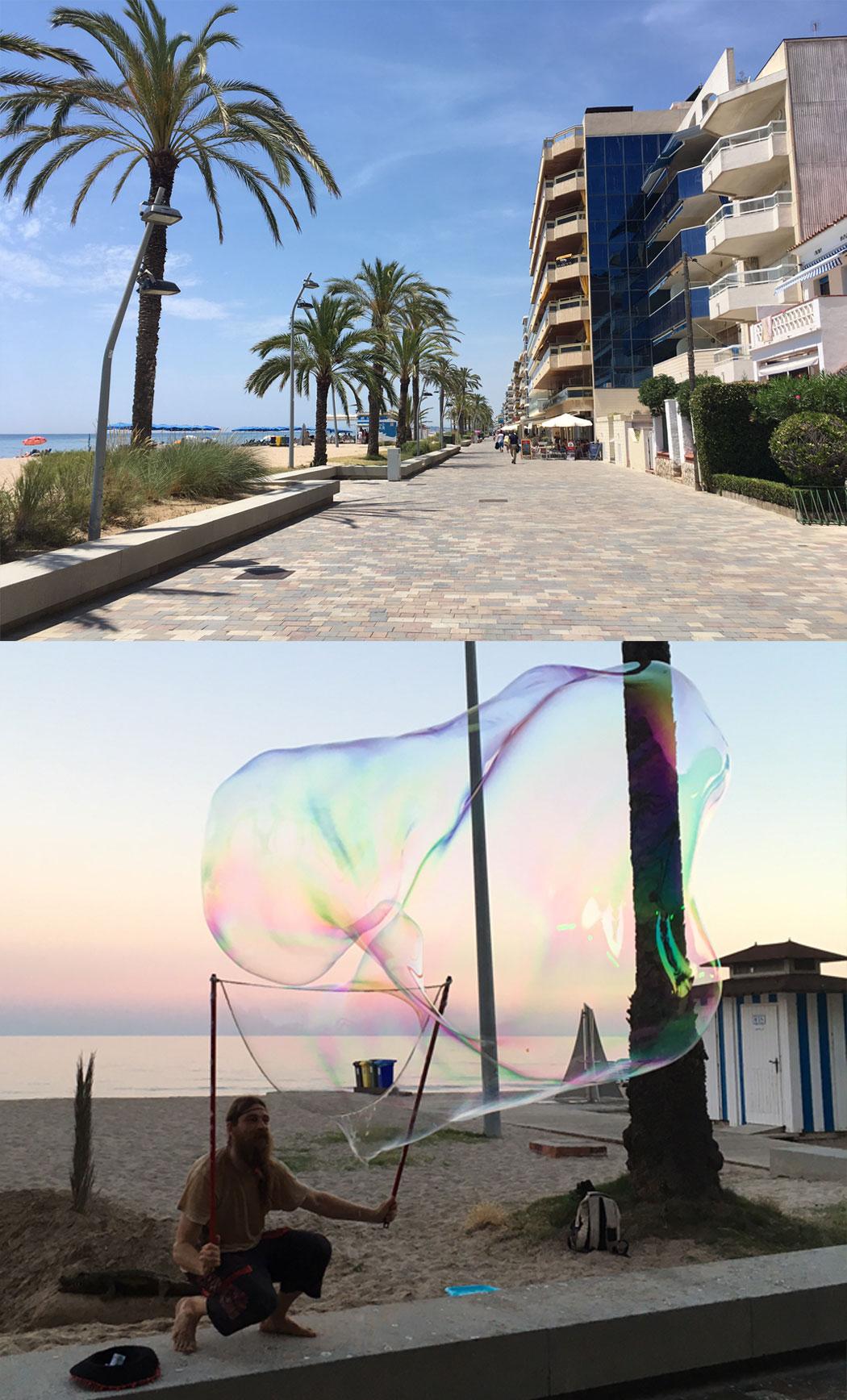Calafell Spanska guldkusten Costa Dorada resa tips