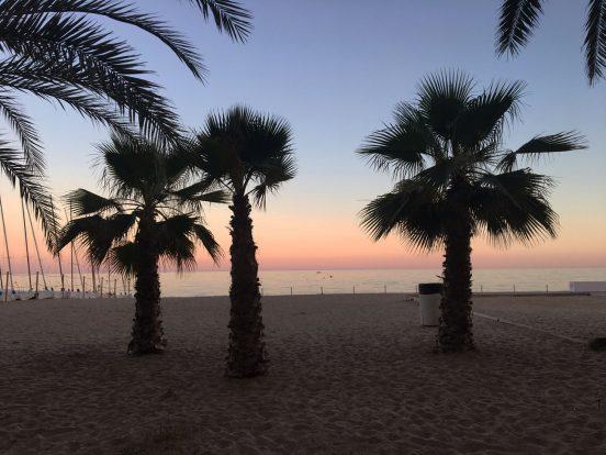 Calafell fin sandstrand resa tips