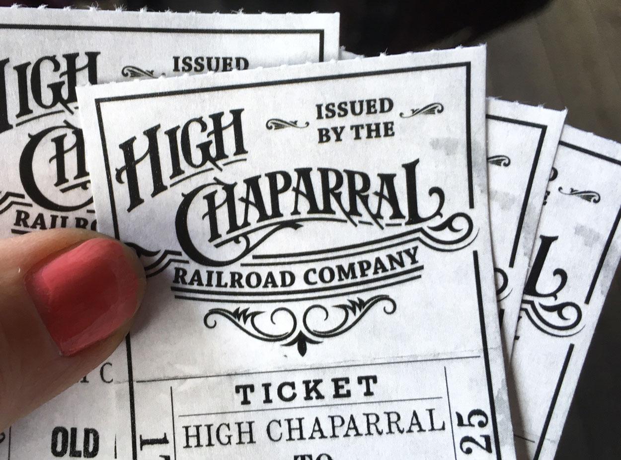 Mrs M restips High Chaparral