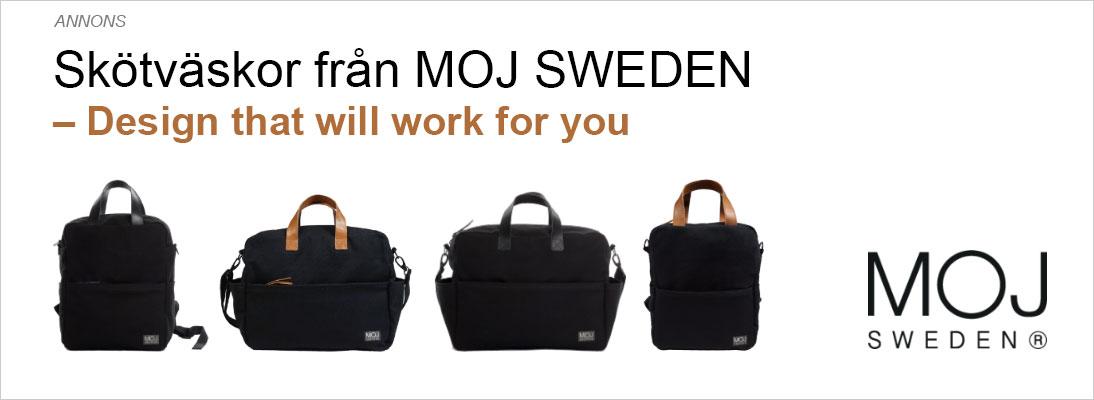 MOJ SWEDEN Skötväska skötväskor resa